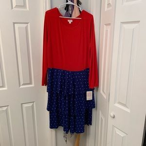 Lularoe NWT Wonder Woman georgia